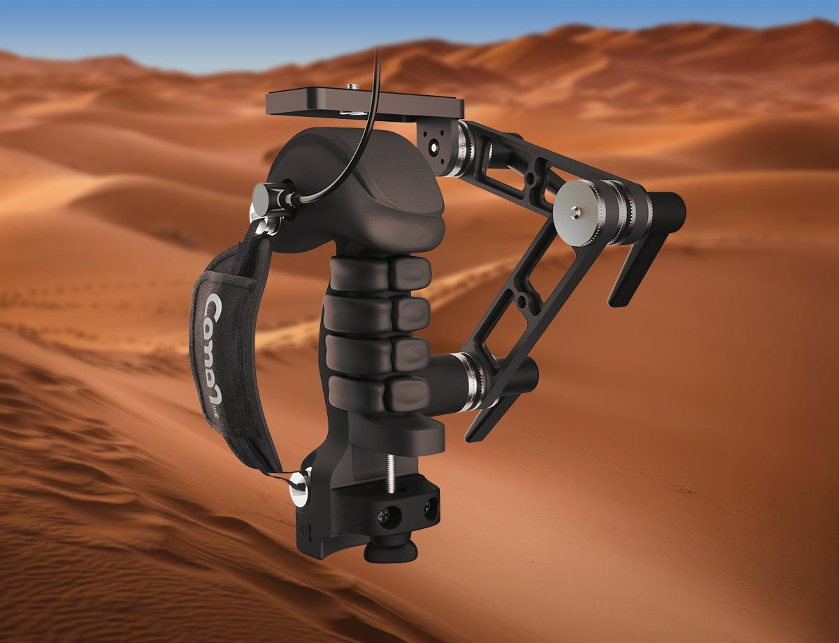 Poignée Caman pour caméras, résistante au sable, à la poussière et à l'eau